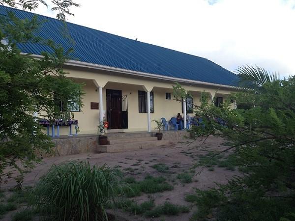 Jengo kuu la kituo cha Sanga Sanga nje kidogo ya mji wa Morogoro.