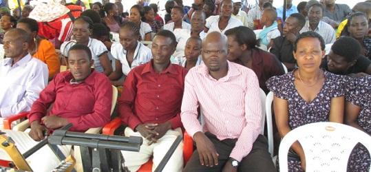 Wakristo wa AICT dayosisi ya Mara na Ukerewe wakiwa kwenye maadhimisho ya miaka 20 ya dayosisi ya Ma