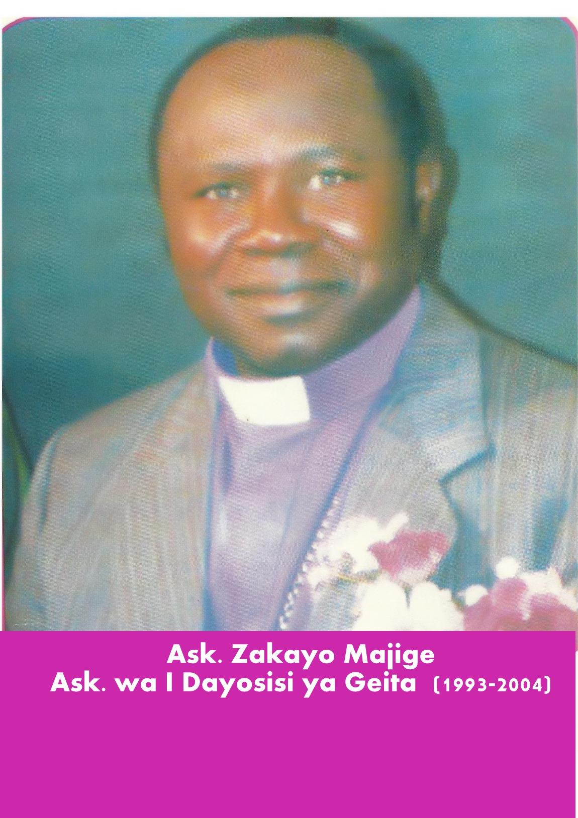 Bishop Zakayo Majige