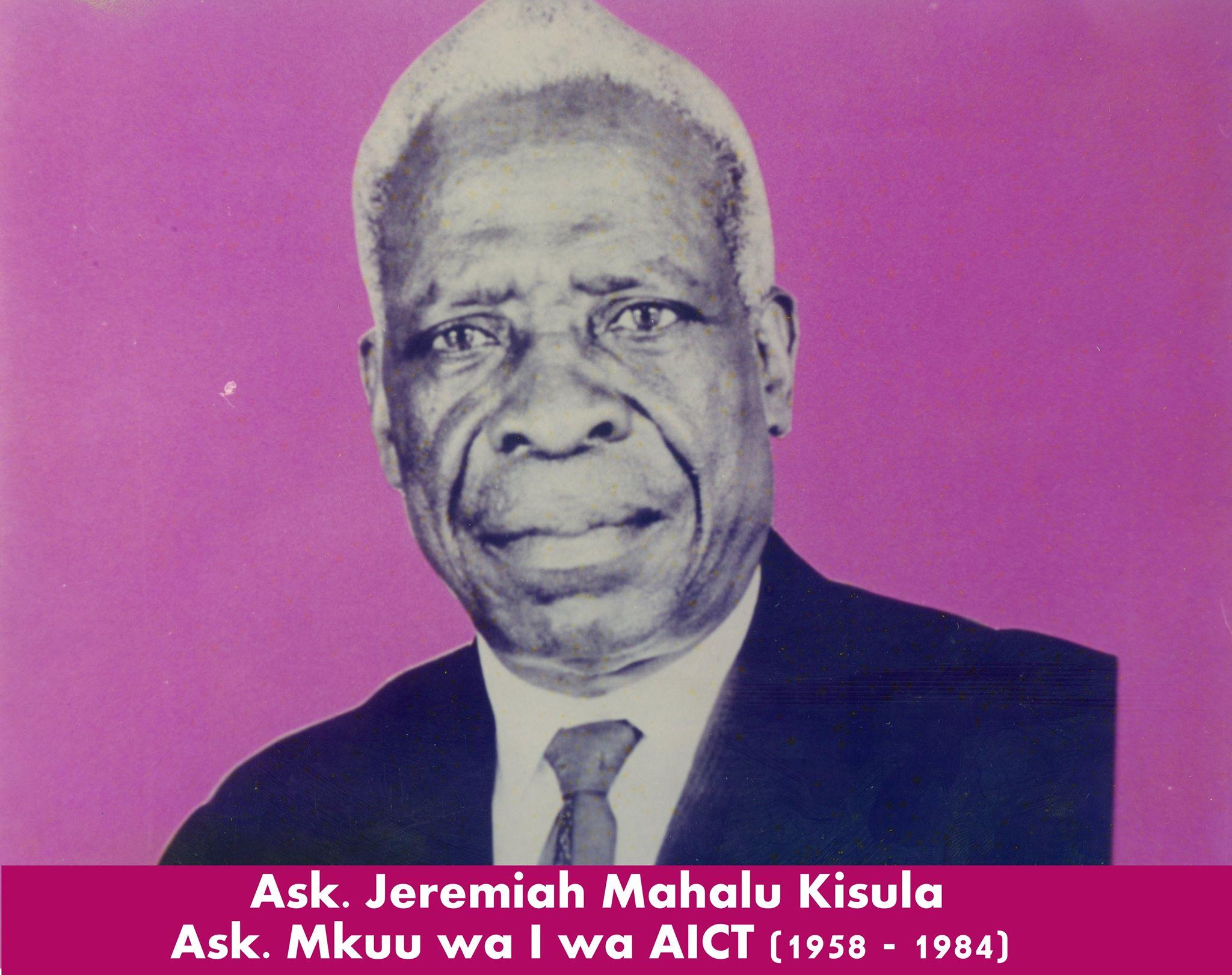 Bishop Jeremiah Mahalu Kisula